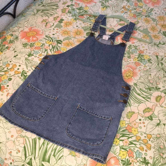 2f254c14b7 Cooperative by UrbanOutfitters denim overall dress.  M_5a90825584b5ce6ed06d29c1